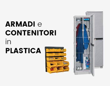 DeOffice Armadi e contenitori in plastica